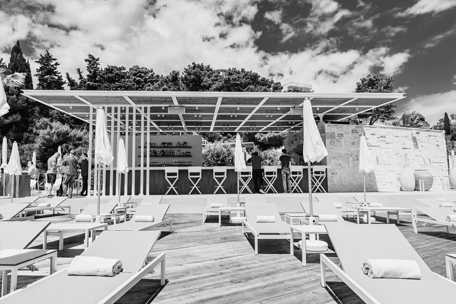 Cosmic Production Homepage Project - Mistral Beach Bar